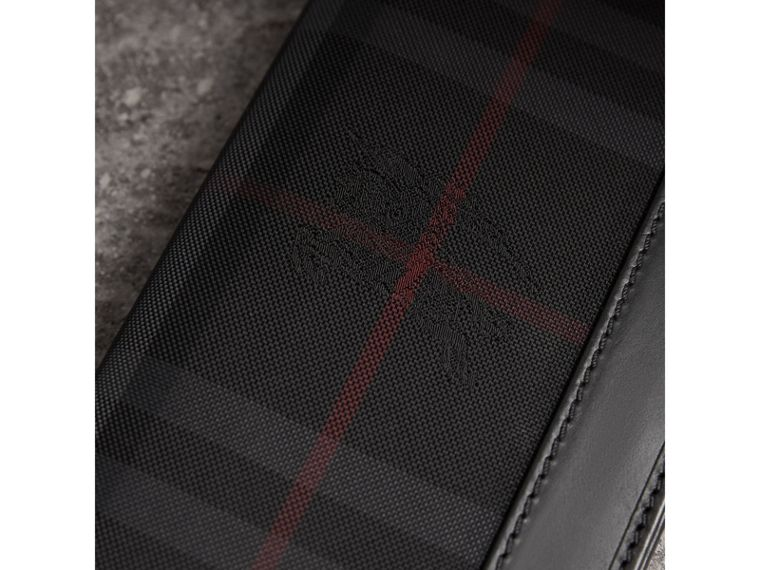 Horseferry Check Continental Wallet in Charcoal/black - Men | Burberry - cell image 1