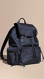 Grand sac The Rucksack en nylon technique et cuir