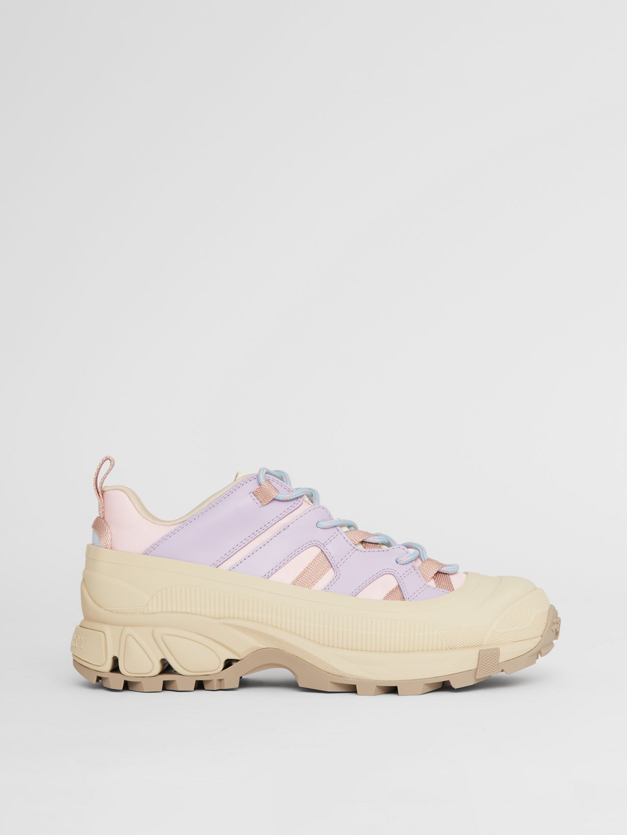 Technical Leather Arthur Sneakers in Multicolour