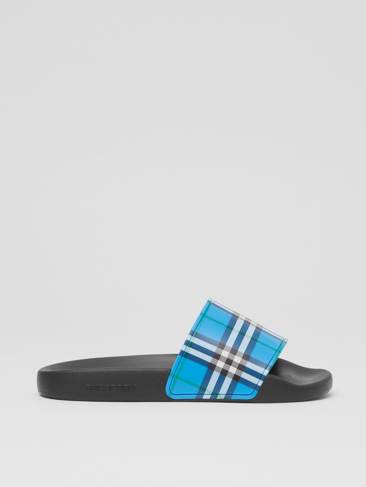 Check Print Slides in Blue Azure