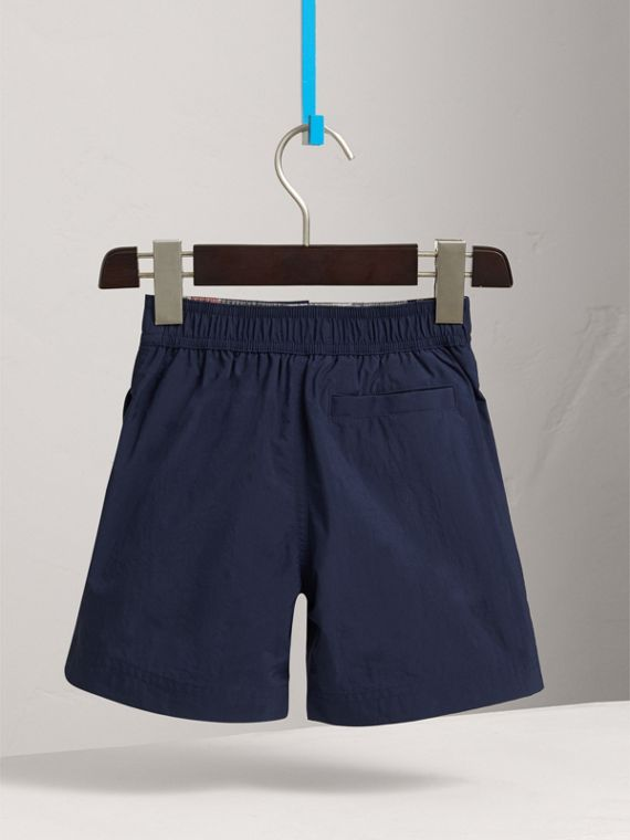 Lightweight Swim Shorts in Indigo - Boy | Burberry Singapore - cell image 3