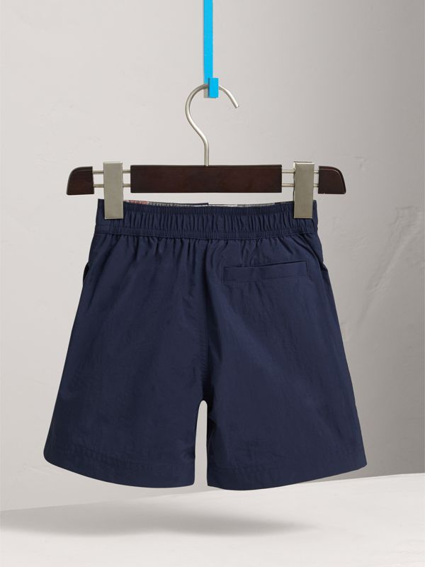 Lightweight Swim Shorts in Indigo - Boy | Burberry United Kingdom - cell image 3