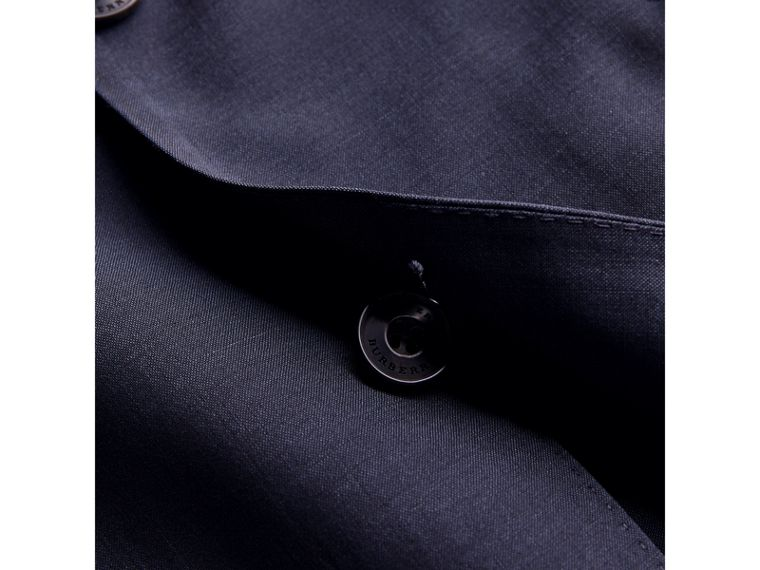 Soho Fit Wool Mohair Suit in Dark Navy - Men | Burberry - cell image 1