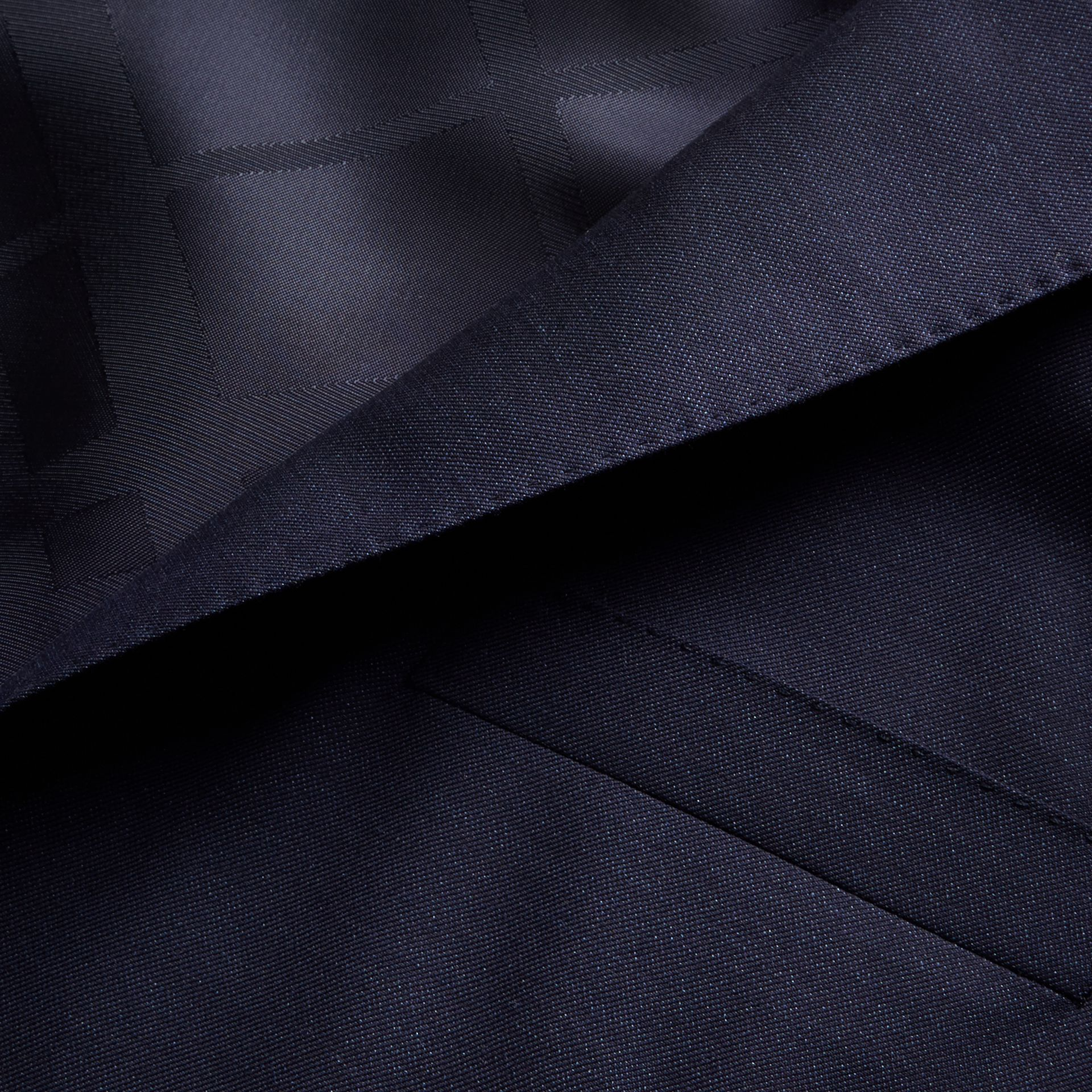 Modern Fit Wool Silk Full-canvas Suit - gallery image 2