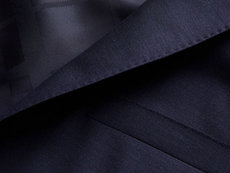 Modern Fit Wool Silk Full-canvas Suit - cell image 1
