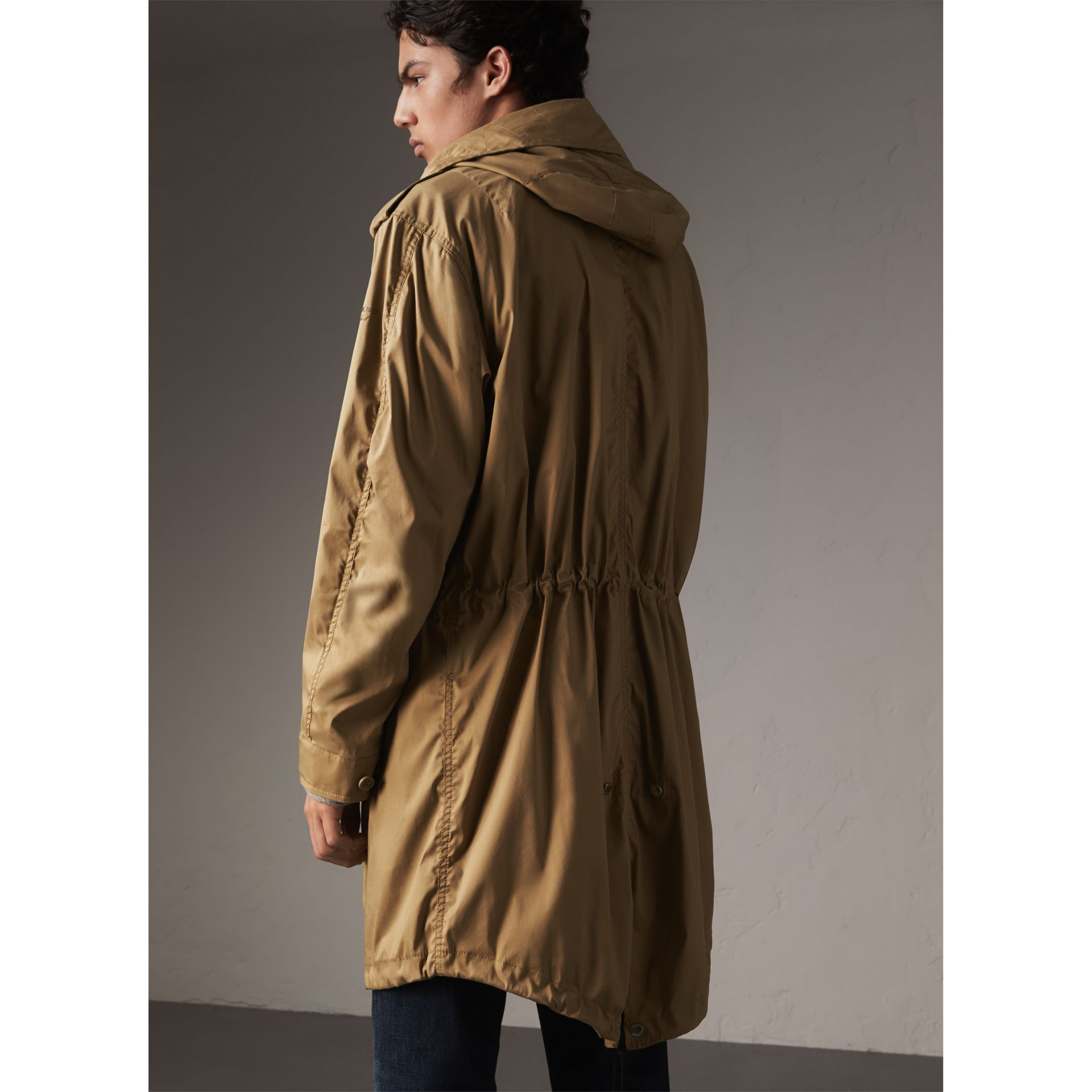 Cotton Blend Twill Parka - Men | Burberry - gallery image 3