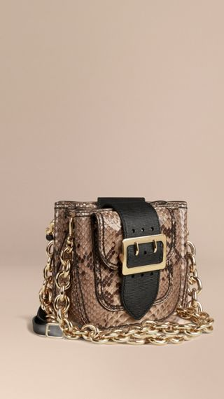 The Buckle Bag – Square in Python Limited Edition