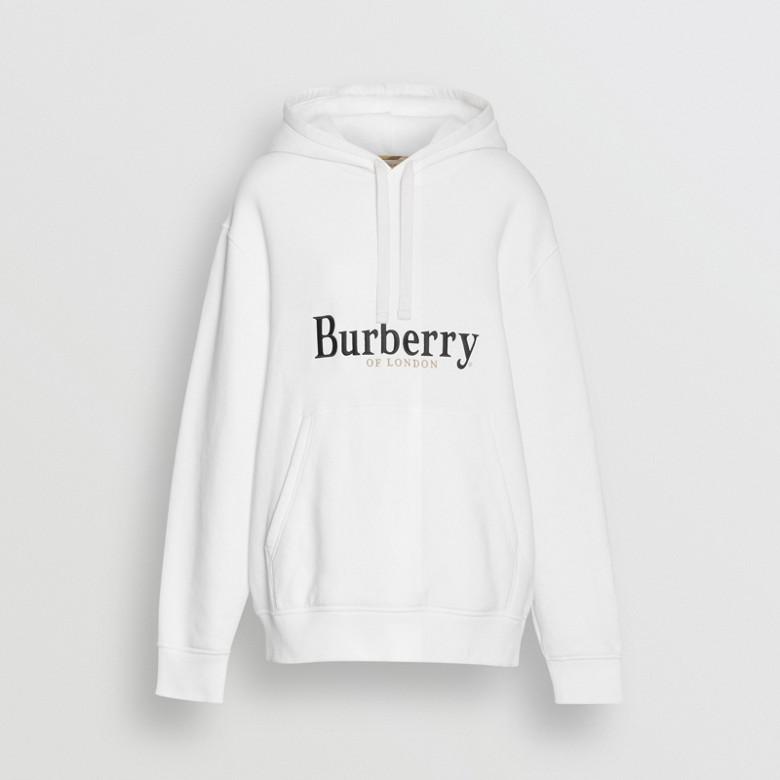 Burberry - Kapuzenpullover aus Jersey mit Logo-Stickerei - 4
