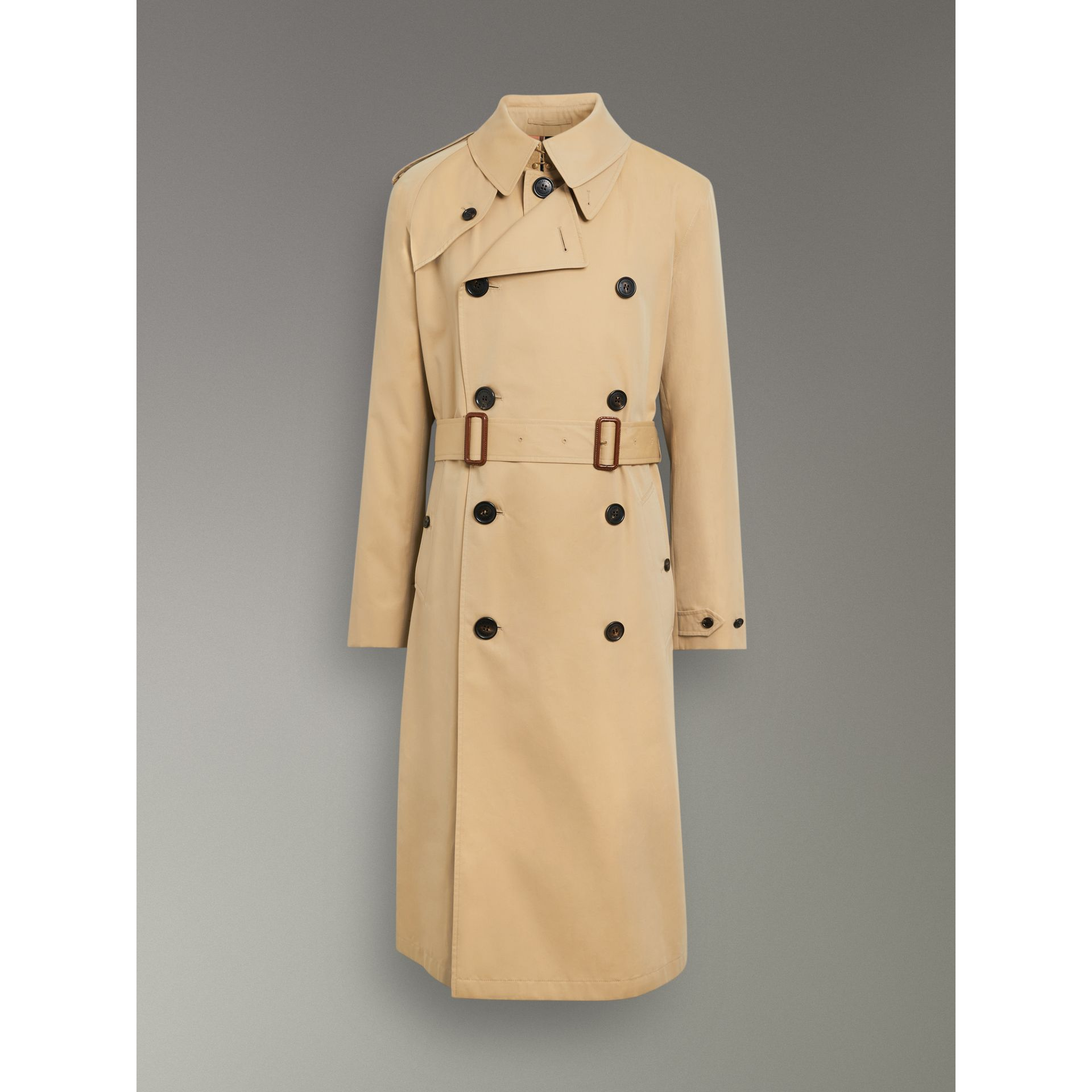 Gosha x Burberry Reconstructed Trench Coat in Honey | Burberry Singapore - gallery image 3