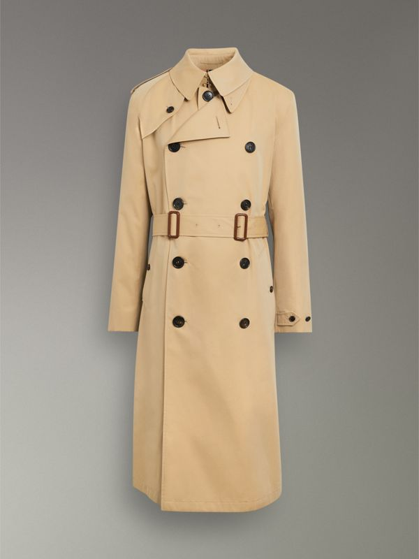 Gosha x Burberry Reconstructed Trench Coat in Honey | Burberry Singapore - cell image 3