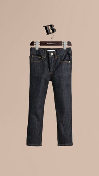 Skinny Fit Indigo Jeans