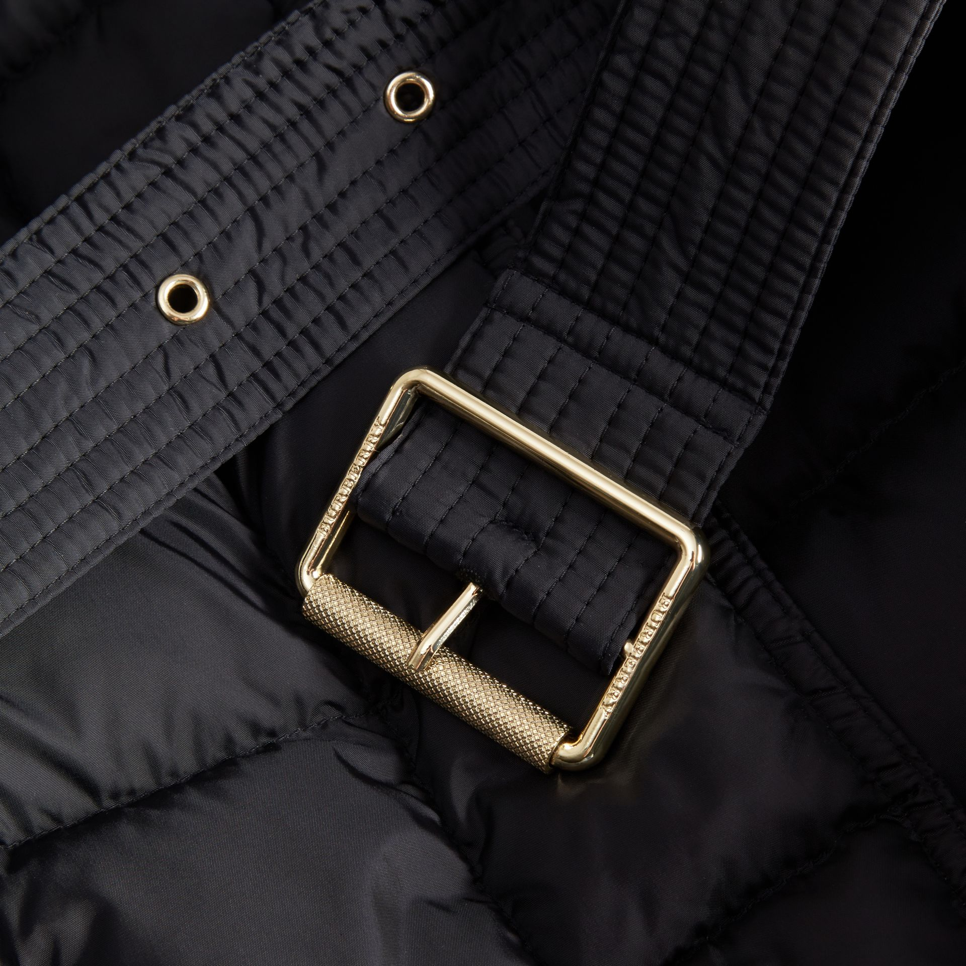 Down-filled Puffer Jacket with Packaway Hood - Women | Burberry Canada - gallery image 2