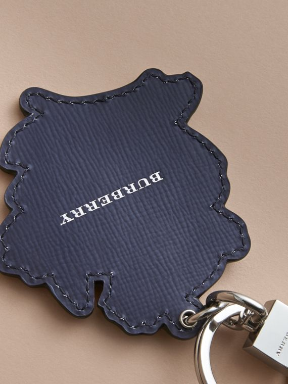 Beasts Leather Key Ring in Olive Green - cell image 3