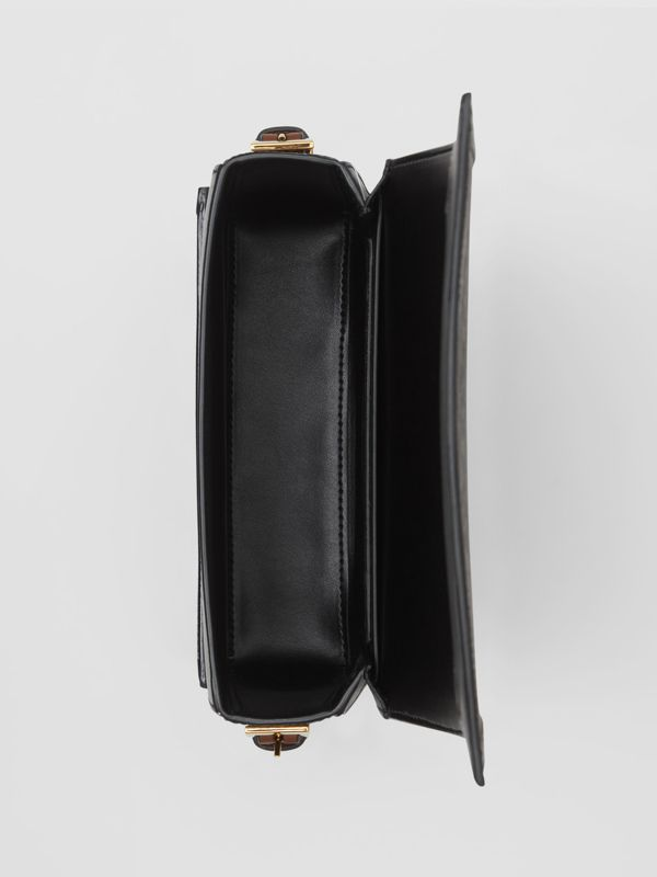 Small Monogram Print E-canvas Grace Bag in Bridle Brown - Women | Burberry United States - cell image 3