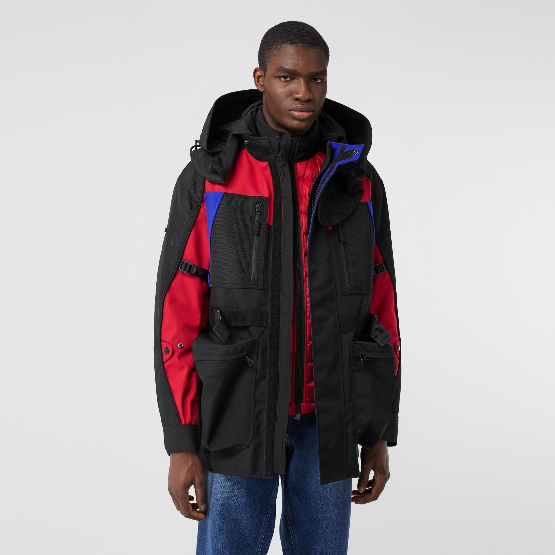Нейлоновая куртка со съемной подкладкой в виде пуховой куртки (Черный) - Для мужчин | Burberry - изображение 7