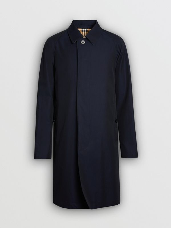 The Camden Car Coat in Blue Carbon - Men | Burberry Hong Kong S.A.R - cell image 2