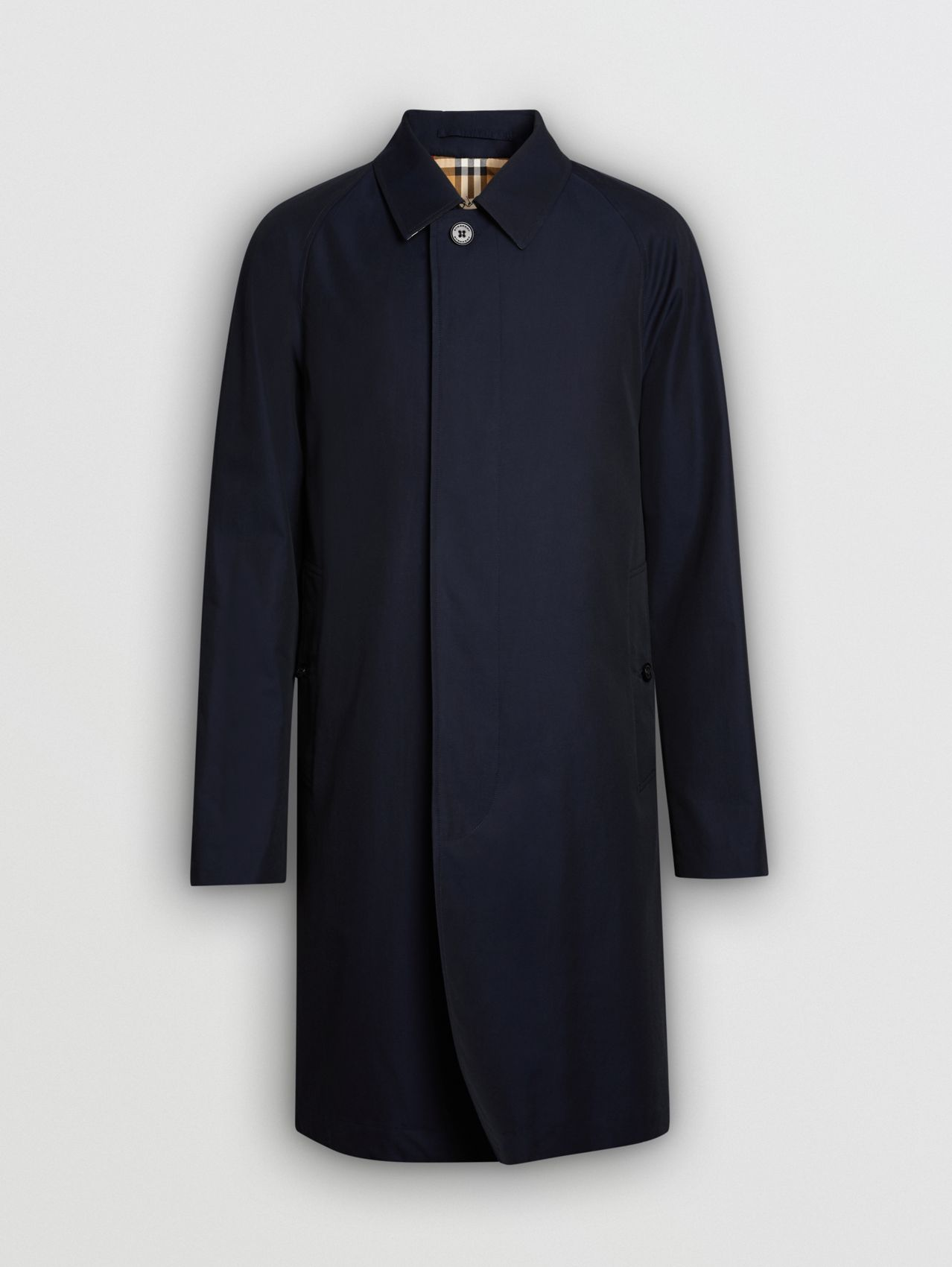 The Camden - Car Coat in Azul Carbono