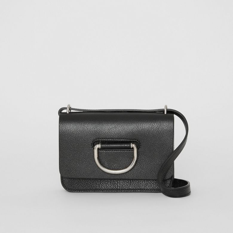 Burberry - Mini sac TheD-ring en cuir - 1