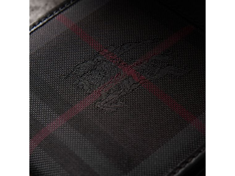 Horseferry Check International Bifold Wallet in Charcoal/black - Men | Burberry - cell image 1