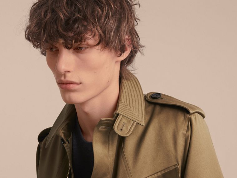 Cotton Field Jacket with Detachable Warmer - cell image 4