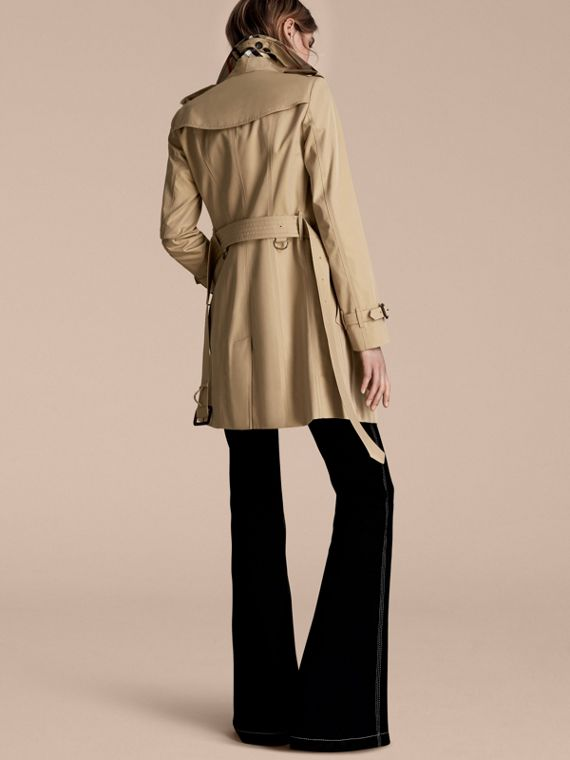 Honey The Sandringham – Mid-Length Heritage Trench Coat Honey - cell image 2