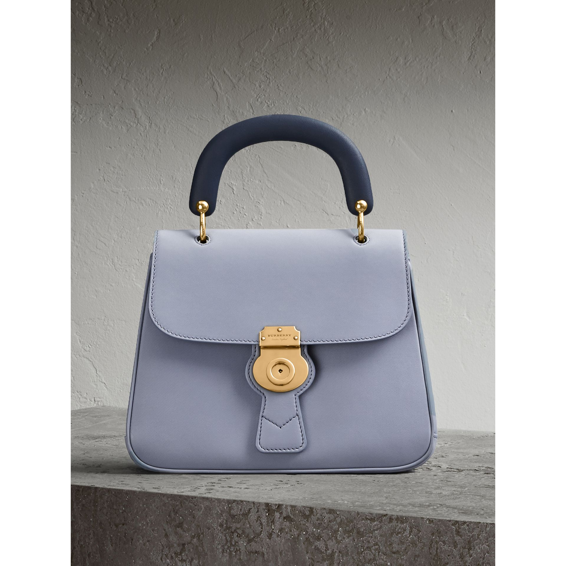 The Medium DK88 Top Handle Bag in Slate Blue - Women | Burberry Singapore - gallery image 0