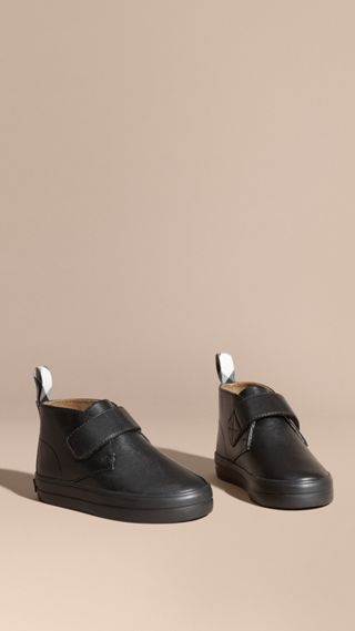 Bottines chukka en cuir