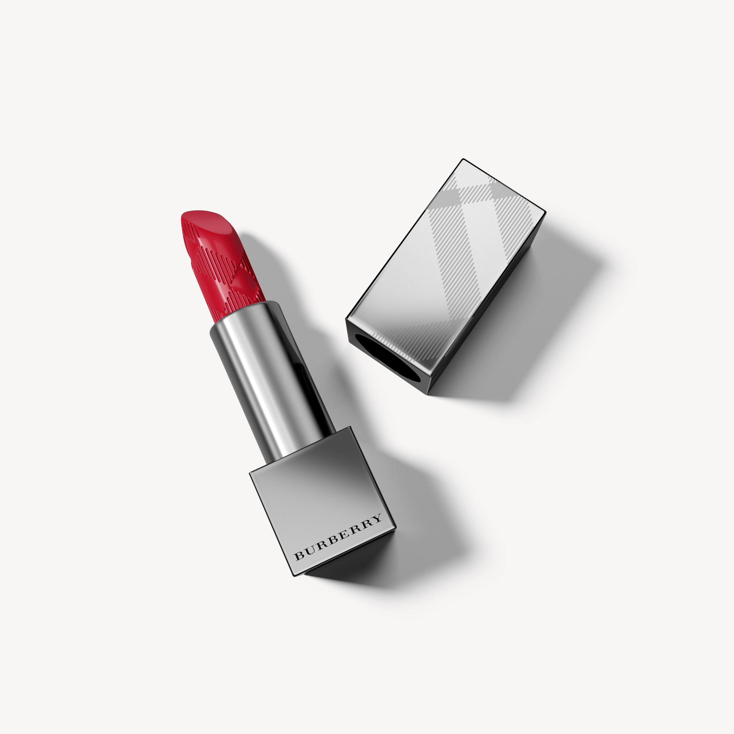 Batom Burberry Kisses – Poppy Red No.105 - Mulheres | Burberry - 1