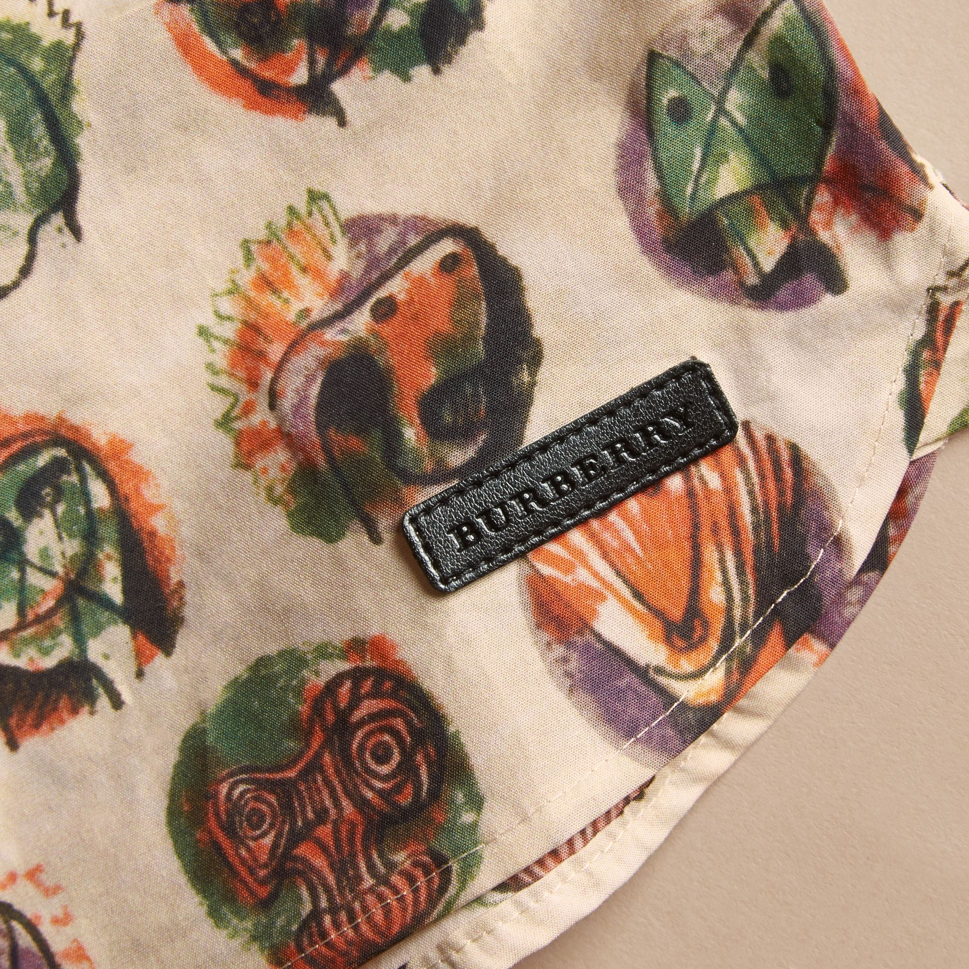 Pallas Heads Print Cotton Shirt - gallery image 2