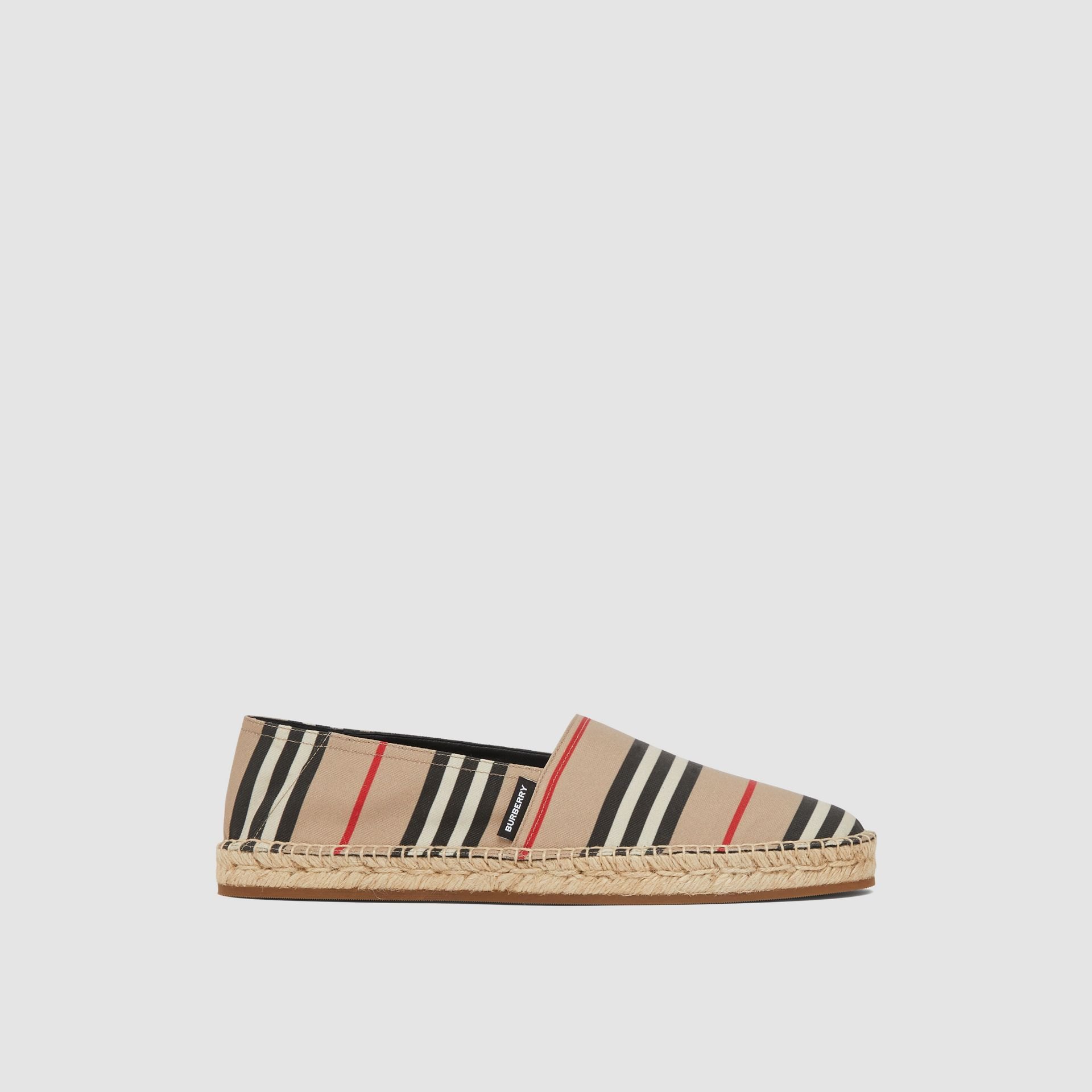 Icon Stripe Espadrilles in Archive Beige - Men | Burberry United Kingdom - gallery image 4
