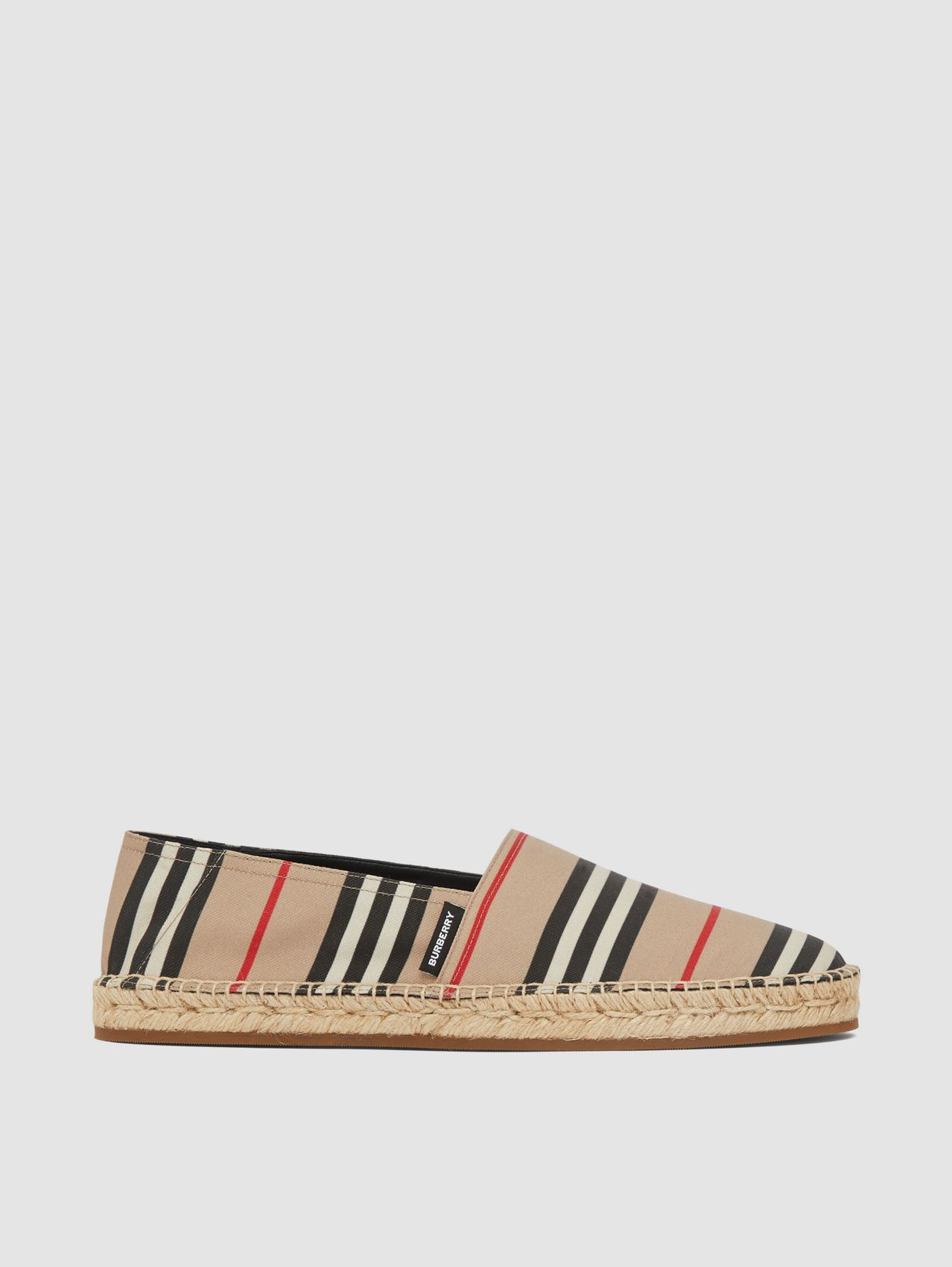 Icon Stripe Espadrilles in Archive Beige