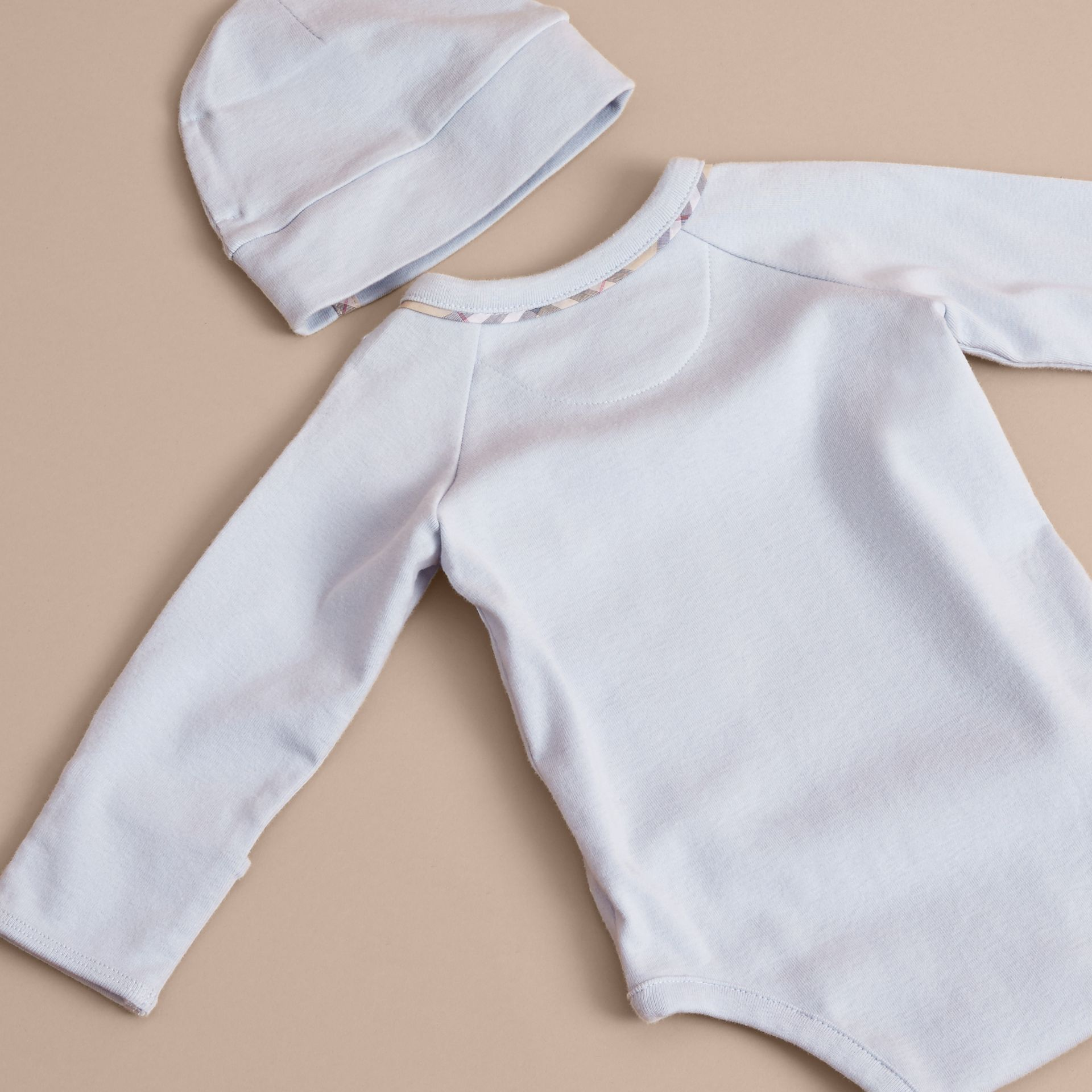Cotton Three-piece Baby Gift Set - gallery image 3