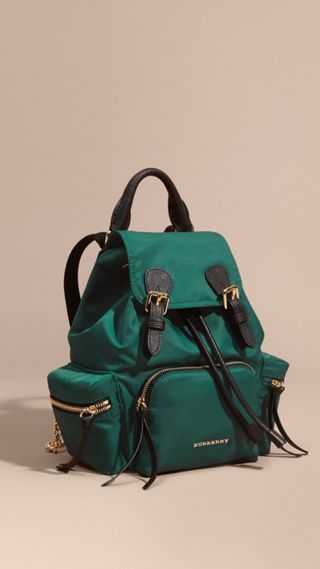 Zaino The Rucksack piccolo in nylon tecnico e pelle