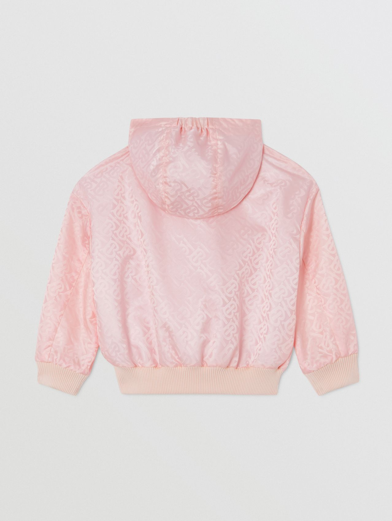 Monogram ECONYL® Hooded Jacket in Cloud Pink