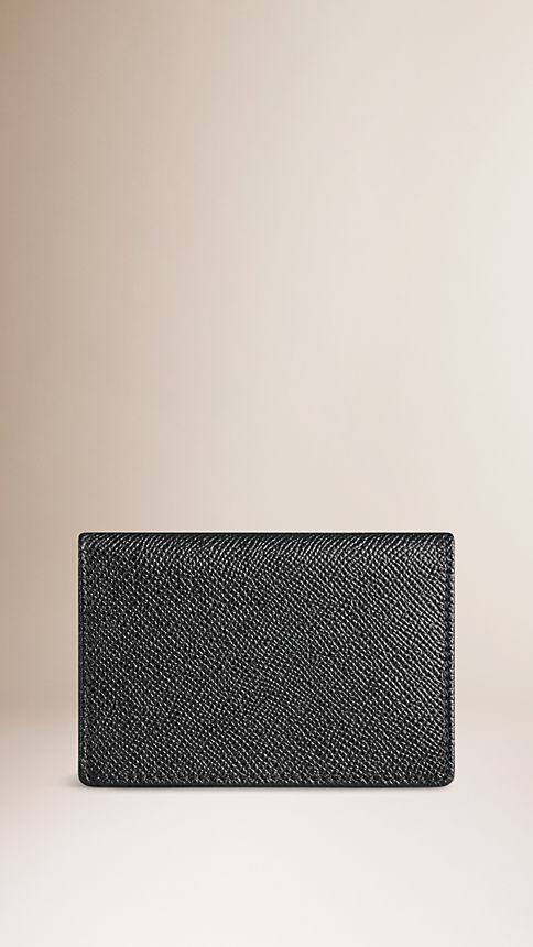 Black London Leather Card Case - Image 2