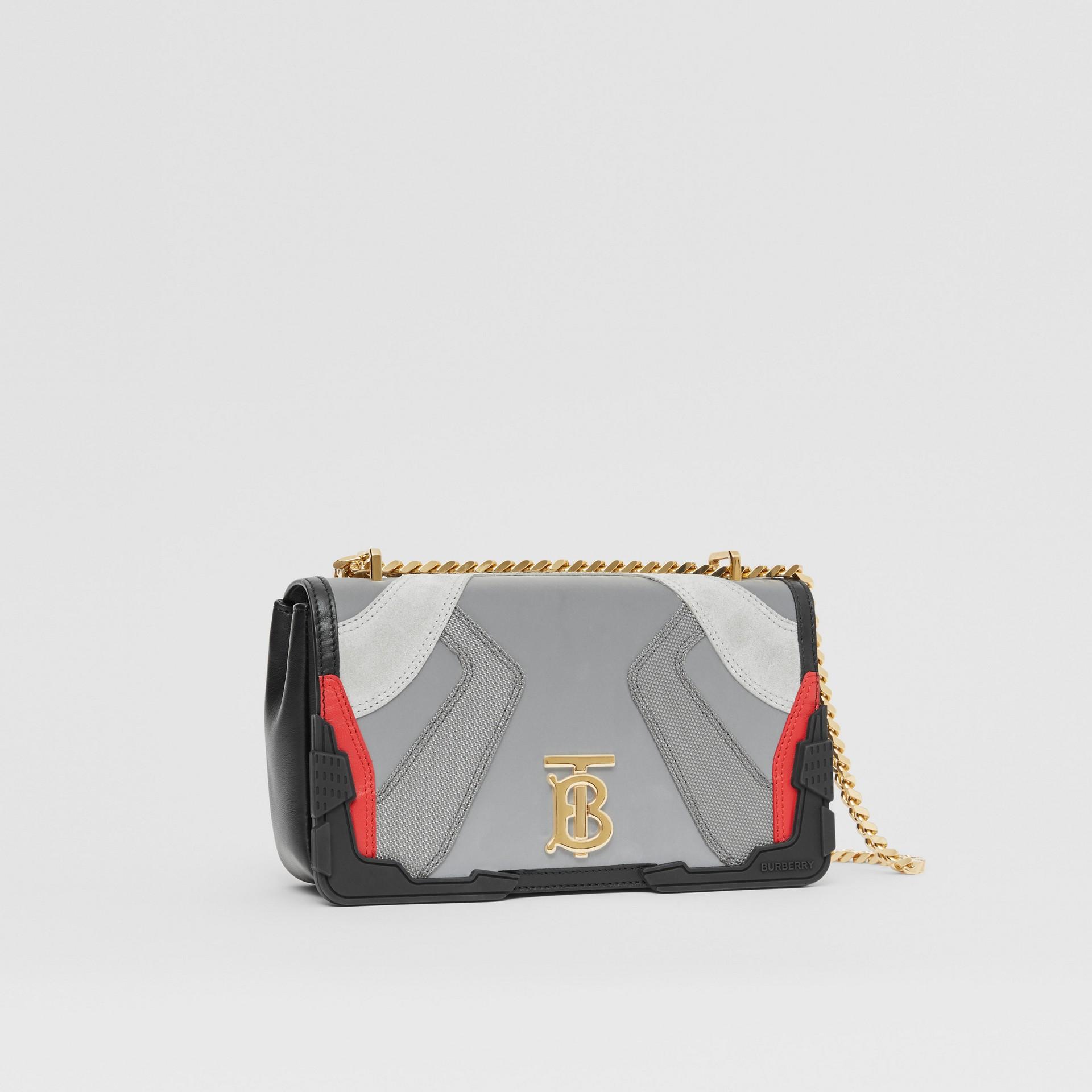Small Appliqué Leather Lola Bag in Multicolour - Women | Burberry United Kingdom - gallery image 4