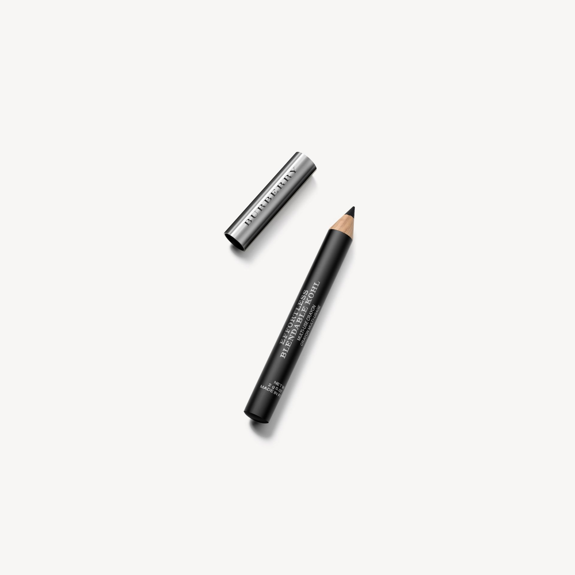 Карандаш Effortless Blendable Kohl с точилкой, оттенок Jet Black № 01 - изображение 1