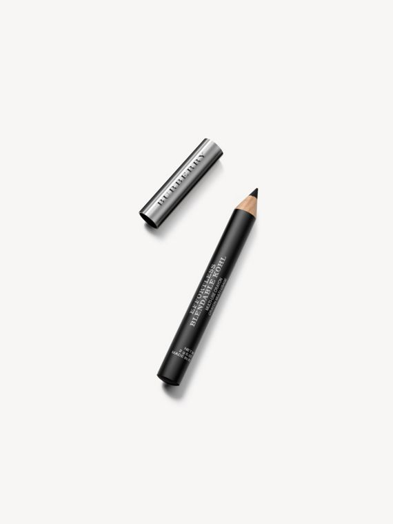 Карандаш Effortless Blendable Kohl с точилкой, оттенок Jet Black № 01 (№ 01)