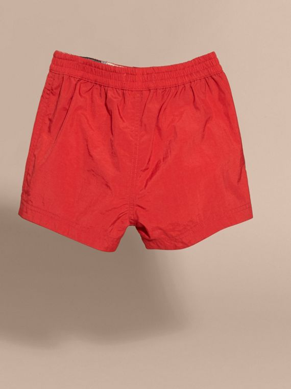 Quick-dry Swim Shorts in Military Red - cell image 2