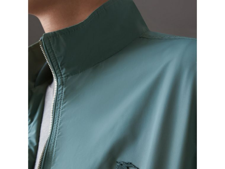 Lightweight Technical Jacket in Powder Green - Men | Burberry - cell image 1