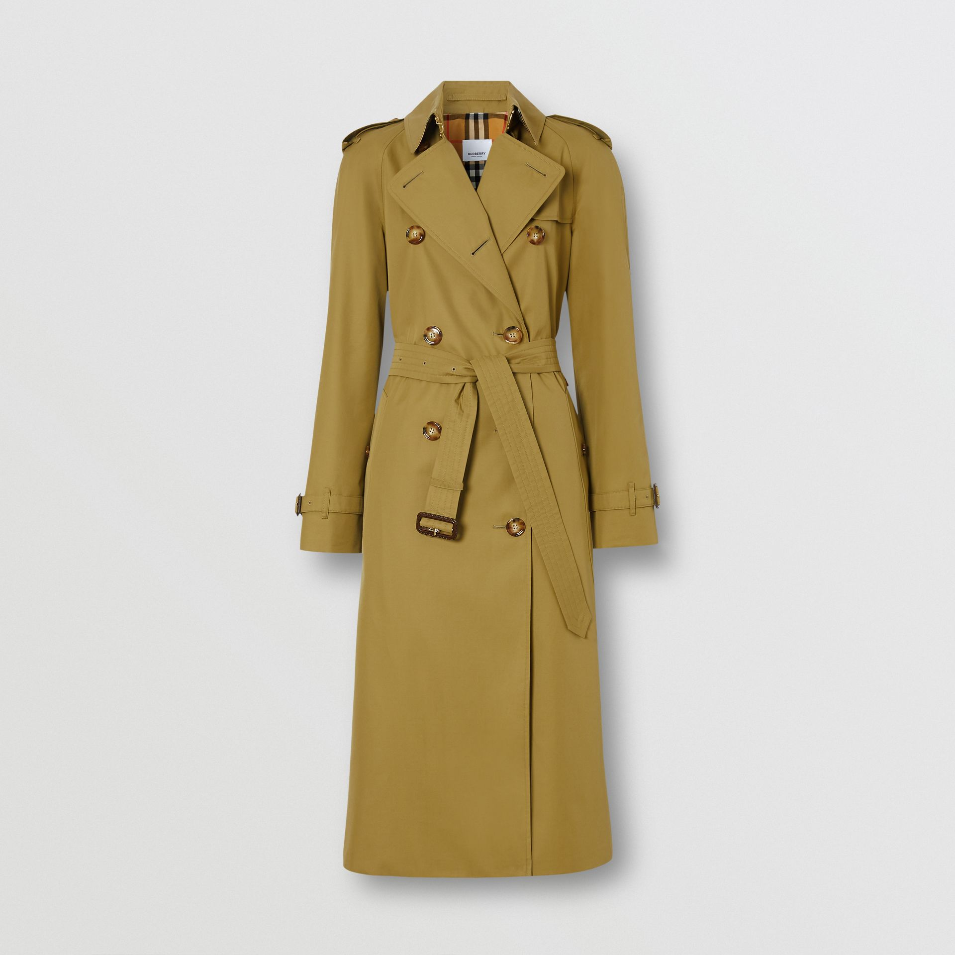 The Waterloo Trench Coat in Rich Olive - Women | Burberry United Kingdom - gallery image 3