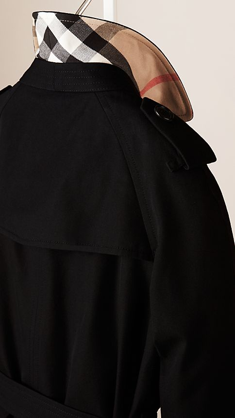 Black The Wiltshire - Heritage Trench Coat - Image 3