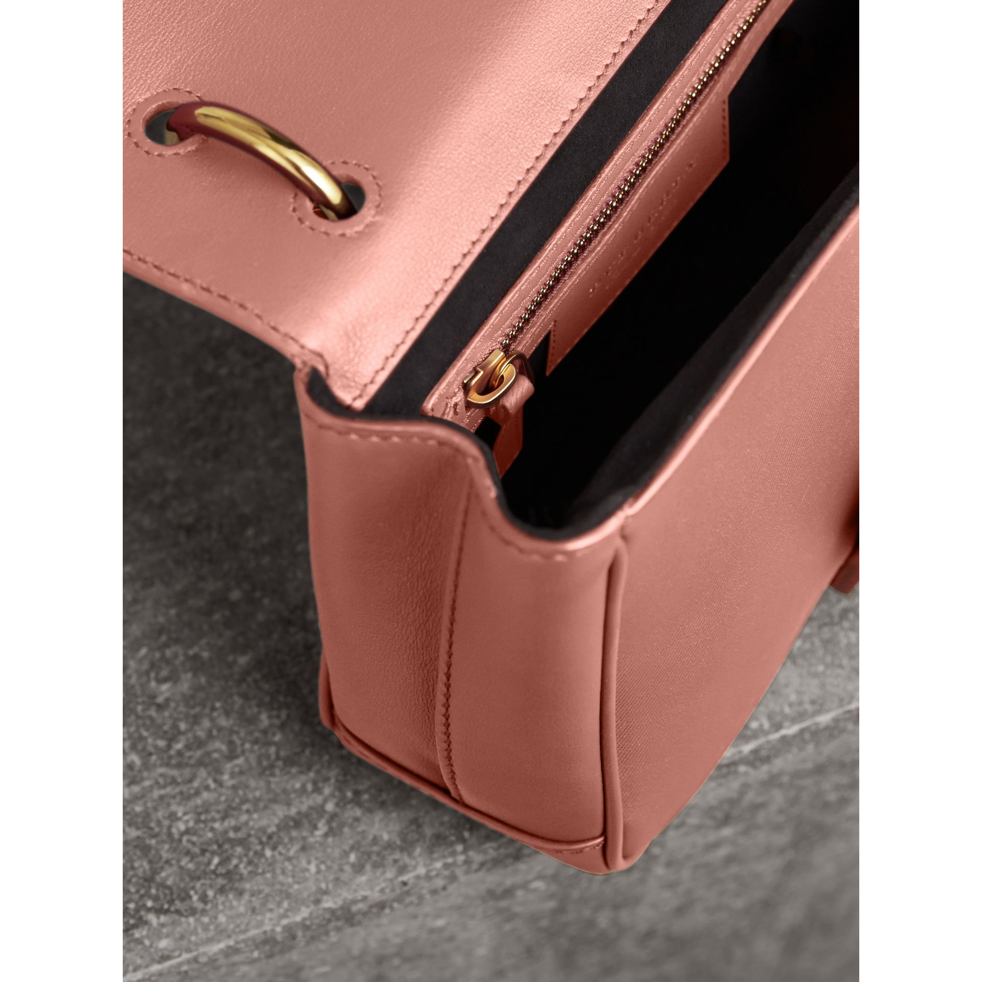 The Small DK88 Top Handle Bag in Ash Rose - Women | Burberry - gallery image 4