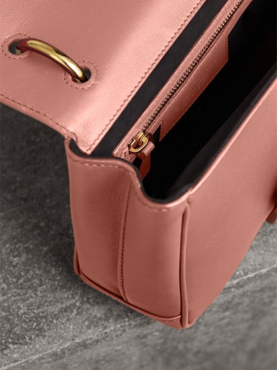The Small DK88 Top Handle Bag in Ash Rose - Women | Burberry - cell image 3