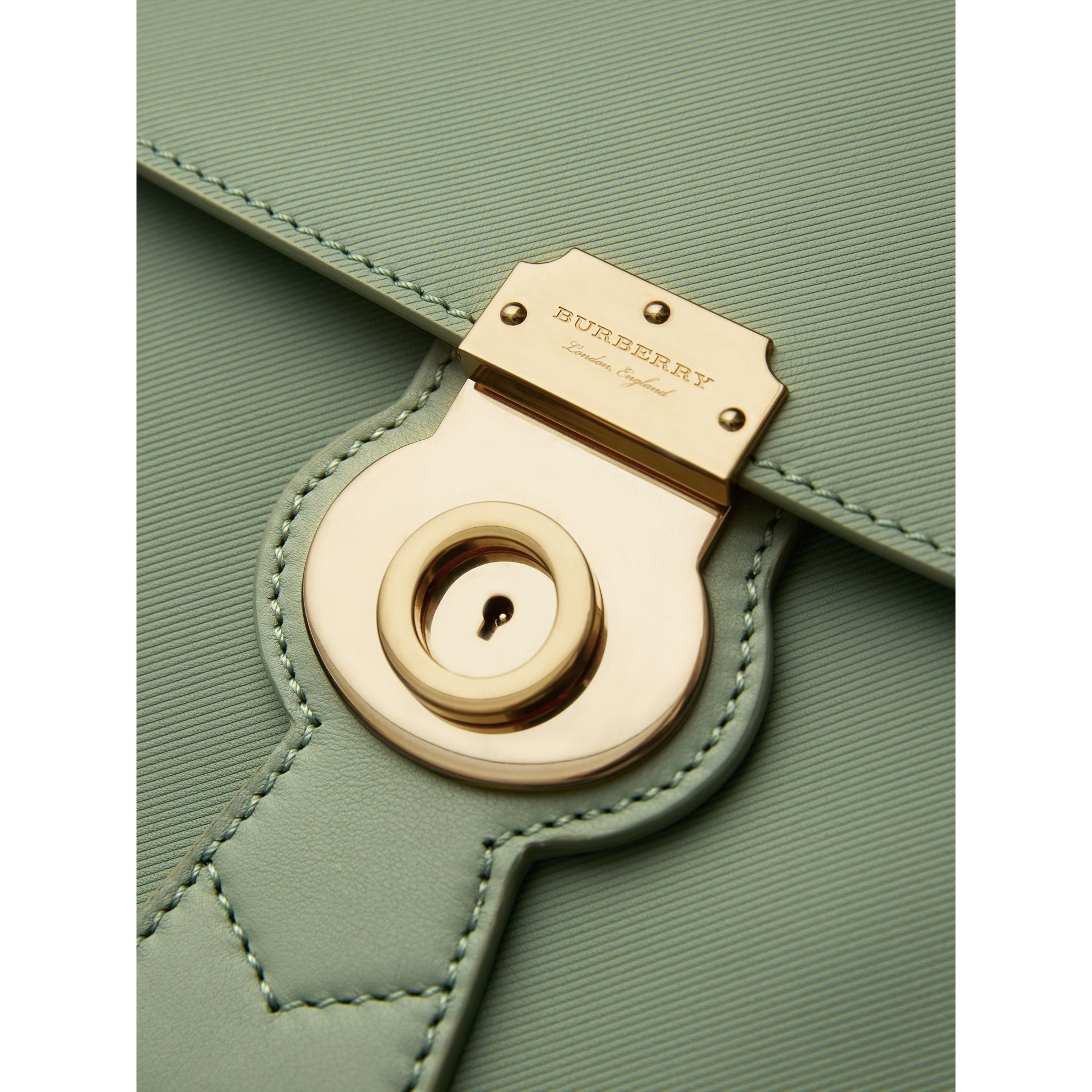 The Medium DK88 Top Handle Bag in Celadon Green - Women | Burberry - gallery image 2