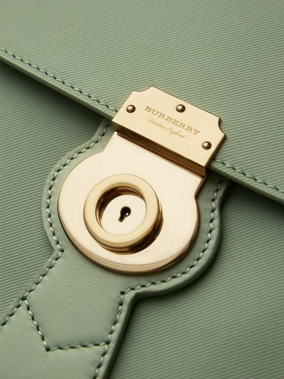 The Medium DK88 Top Handle Bag in Celadon Green - Women | Burberry United Kingdom - cell image 1