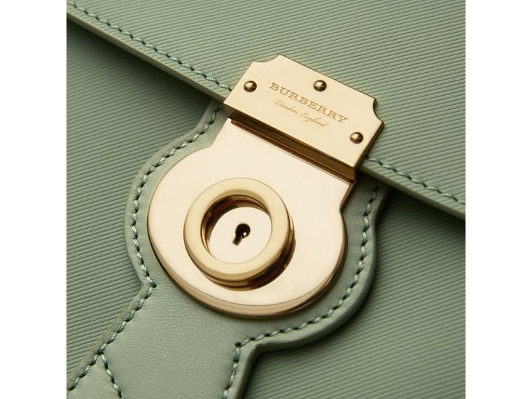The Medium DK88 Top Handle Bag in Celadon Green - Women | Burberry United States - cell image 1