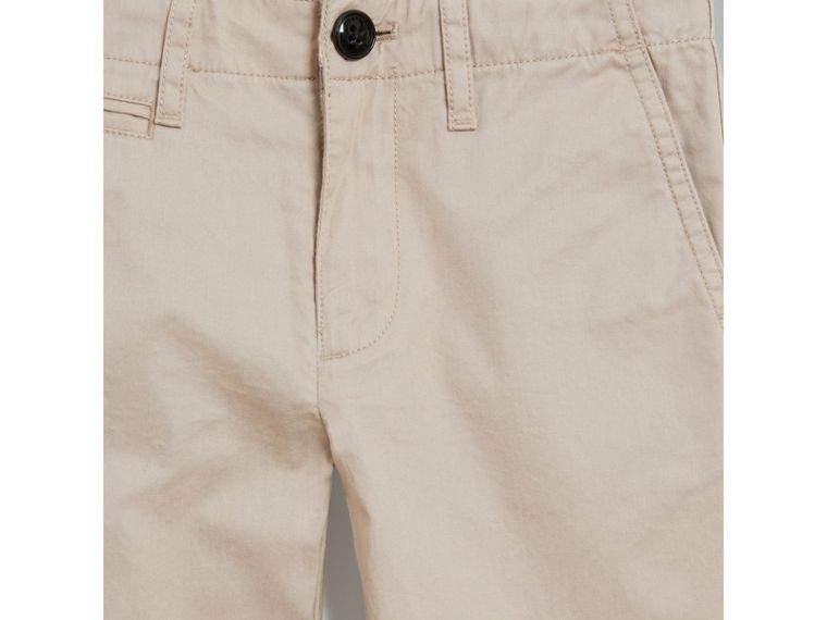 Cotton Chinos in Grey Stone - Boy | Burberry - cell image 4