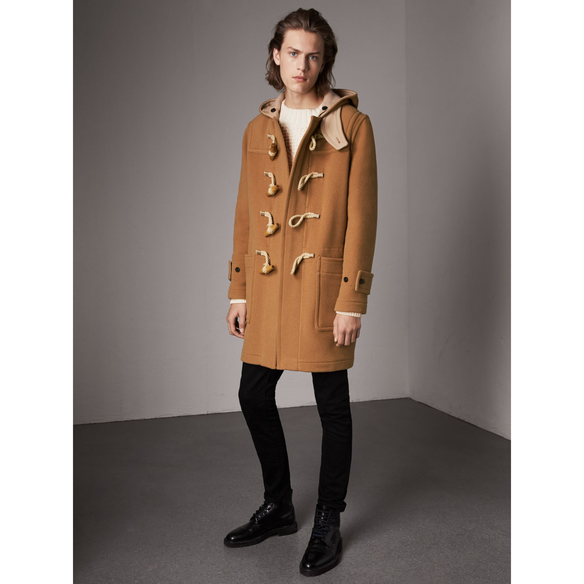 The Greenwich Duffle Coat in Mid Camel - Men | Burberry - gallery image 1