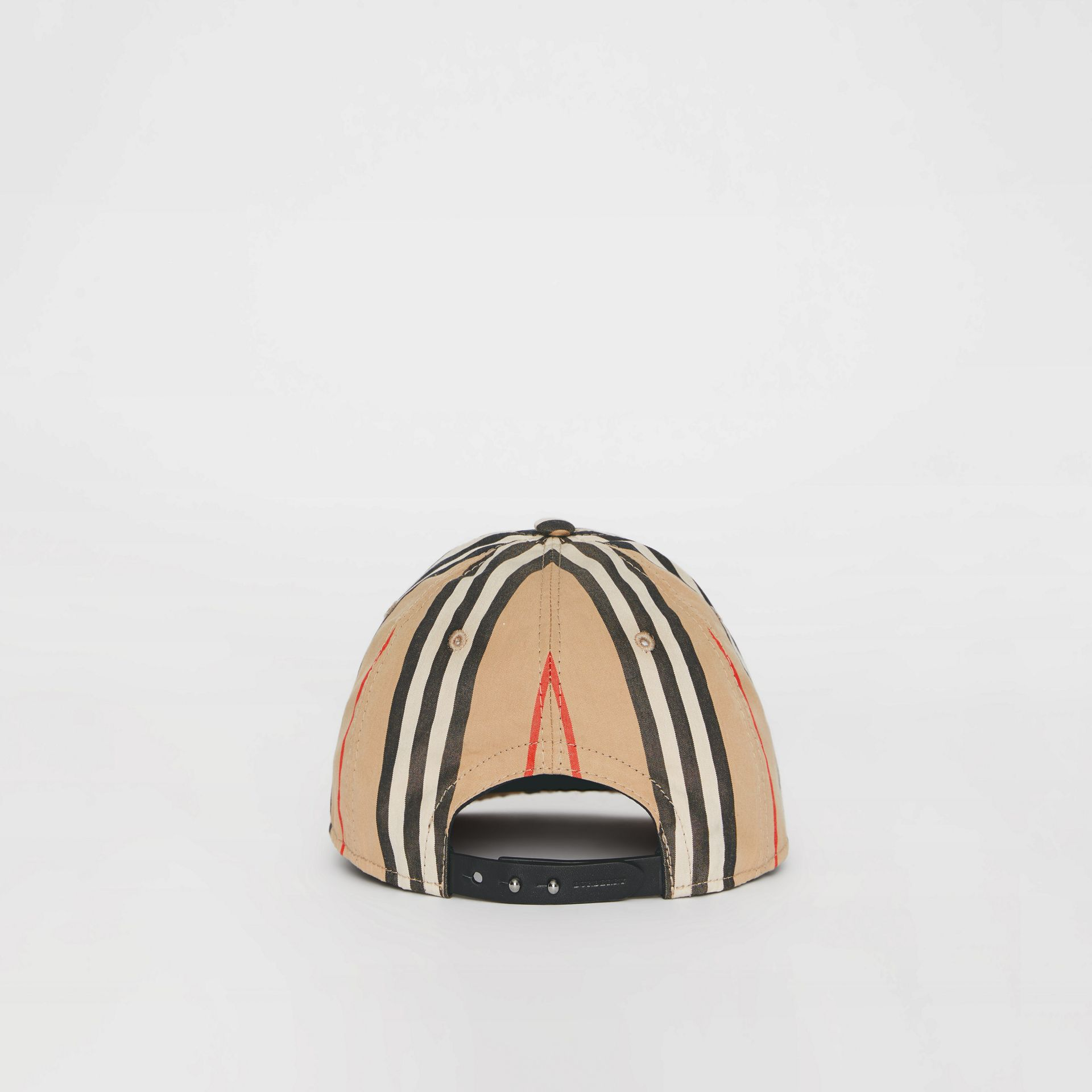 Icon Stripe Baseball Cap in Archive Beige | Burberry United Kingdom - gallery image 3